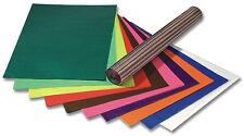 Transparentpapier - Sortiment Papier basteln 42g 50x70cm 100 Bögen in 10 Farben