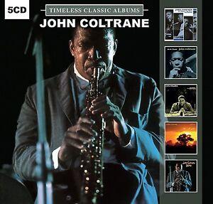 JOHN-COLTRANE-Timeless-Classic-Albums-5-CD-NEW-amp-SEALED-from-UK