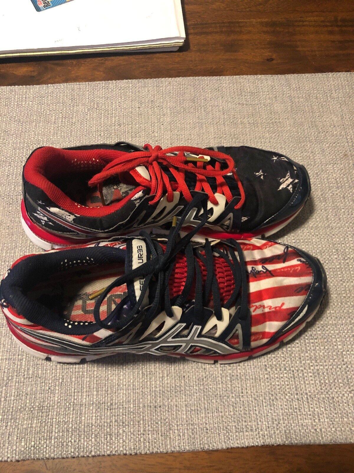 Rare Asics Gel-blur33 Gel-blur33 Gel-blur33 Running scarpe Olympic Edition 102de5