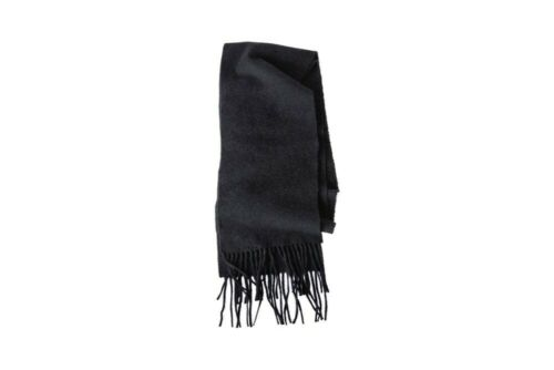 Acne Studios Men's Collection Charcoal Wool Blanke