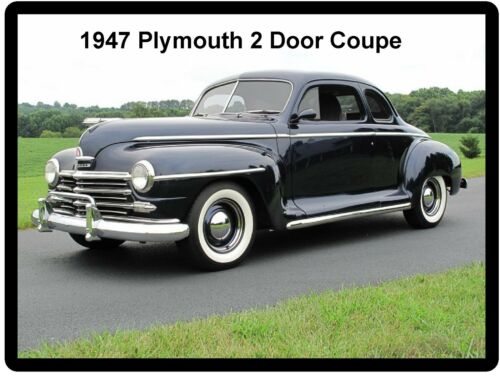 1947 Plymouth 2 Door Coupe  Auto Refrigerator Tool Box  Magnet