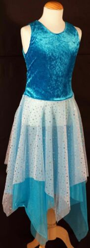 LADIES SIZES Dance-Lyrical-Solo-Stagewear BLUE MIDSUMMER NIGHT/'S DREAM FAIRY