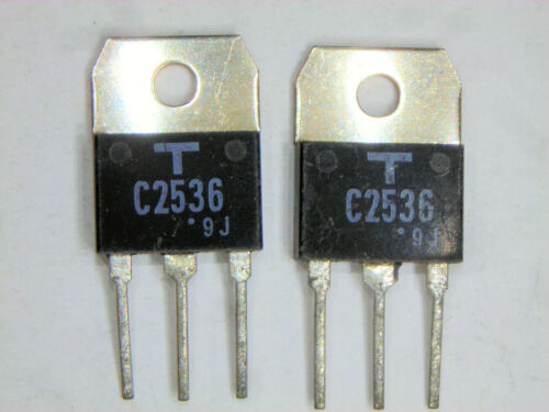 "2SC2536 /""Original/"" Toshiba Transistor 2 pcs"
