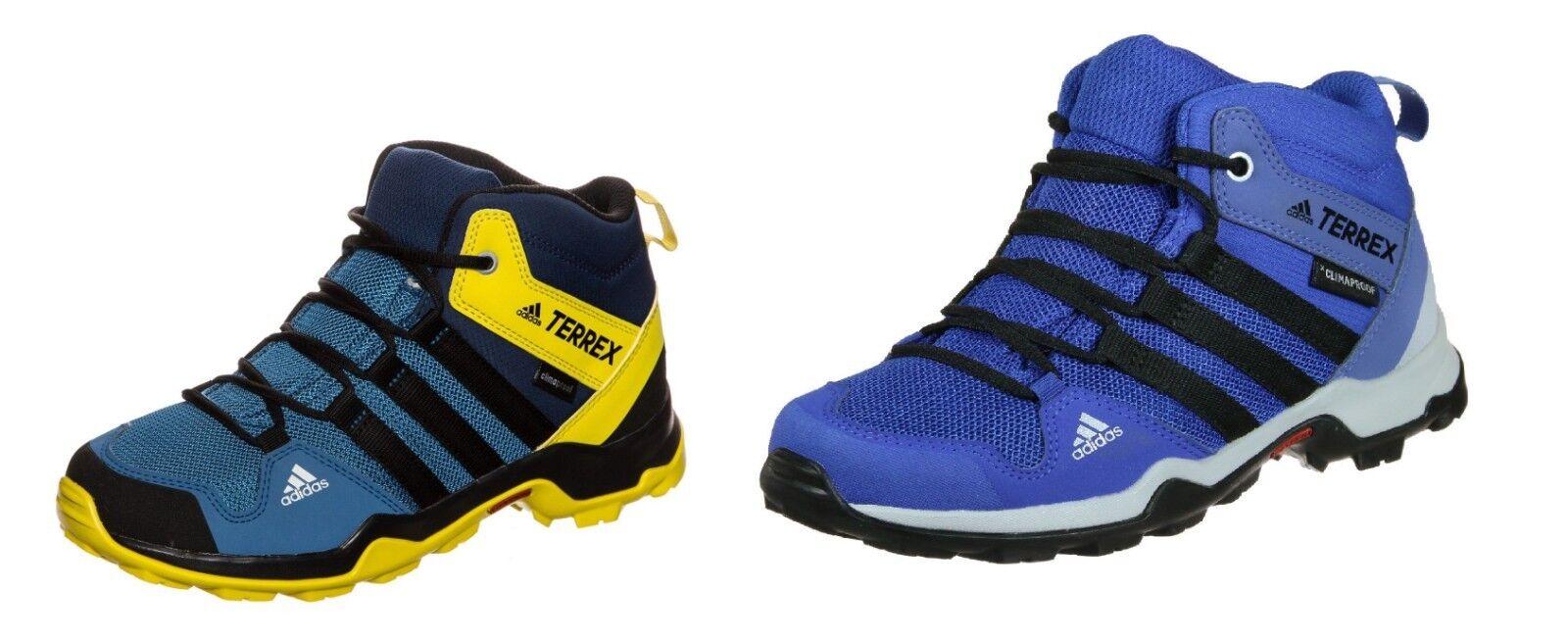 Adidas TERREX AX2R mid CP Kinder Wanderschuhe Trekkingschuhe 34 - 40 wasserdicht