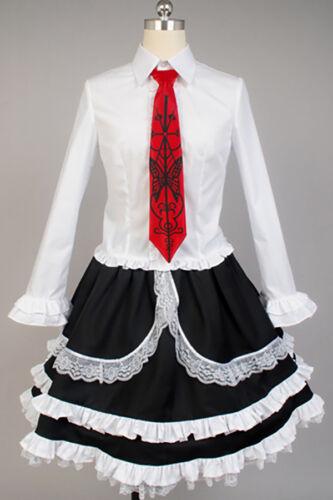 Dangan Ronpa Danganronpa Celestia Ludenberg Dress Cosplay Costume Outfit Suit