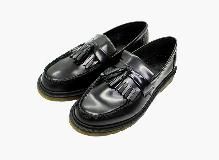 Dr.Martens Adrian Tassle Loafer (R24369001) Leather Boots shoes Black