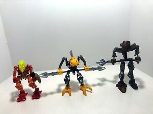LEGO-Bionicle-LOT-Rahkshi-7138-Panrahk-8587-Tahu-7116