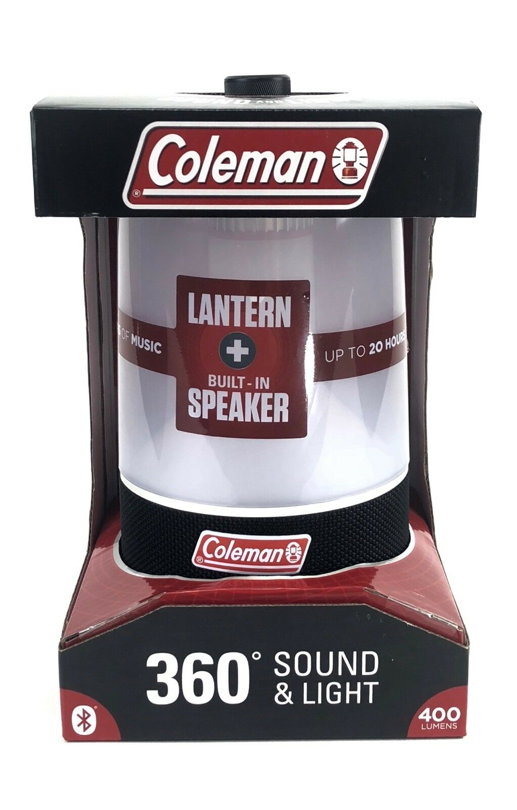 Coleman 360 Sound Light blueetooth LED Lantern New in Box  Light & Speaker Outdoor  best prices