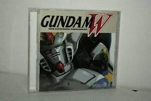 GUNDAM-W-WING-OPERATION-CD-AUDIO-USATO-OTTIMO-STATO-VERSIONE-GIAPPONES-VBC-52515