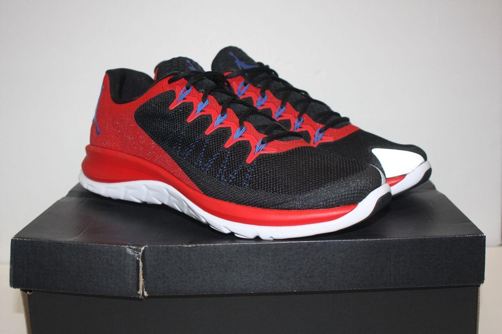 Jordan Flight Runner 2 Black Red PROMO SU15-MNJDSP-765-BOM Men Size 15 New!