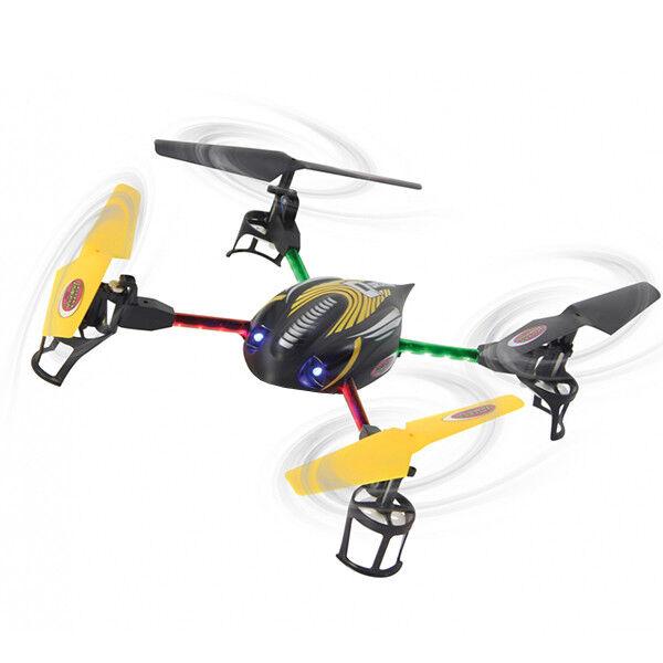 QUADRICOTTERO ACROBATICO Q-DRONE LED COLORATI 2,4GHZ DRONE RADIOCOMANDATO