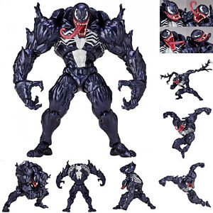 Marvel-Spider-Man-Venom-Edward-Brock-Revoltech-PVC-Action-Figure-Model-Toys-Gift