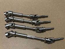 Hardened Steel Driveshafts CVD Kit for Traxxas Slash VXL 4x4