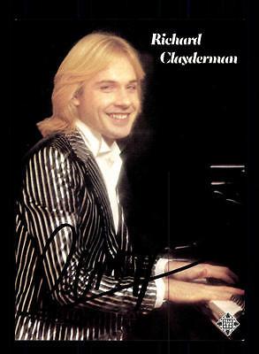 Richard Clayderman Autogrammkarte Original Signiert ## Bc 87266 Direktverkaufspreis Original, Nicht Zertifiziert
