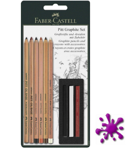 9-teilig Faber-Castell Pitt Monochrome Set