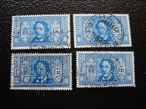 Italy-Stamp-Yvert-and-Tellier-N-290-x4-Obl-A11-Stamp-Italy