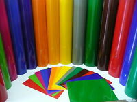 BUY 2 GET 1 FREE! 1m / A4 ROLL WINDOW FILM GLASS TRANSPARENT SELF ADHESIVE VINYL