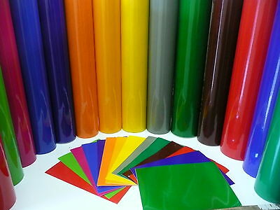 "BUY 2 GET 1 FREE 5m Roll 48/"" Self Adhesive Vinyl Sign Making Vinyl Fablon Film"