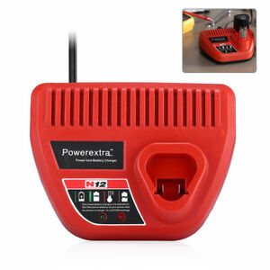 Rapid-Charger-For-Milwaukee-M12-Lithium-Ion-Battery-M12-XC-48-11-2420-48-59-2401