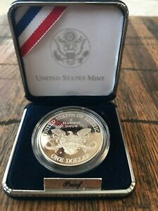 2001 US Capitol Visitor Center Commemorative Coin Proof Silver Dollar $1 Mint State US Mint