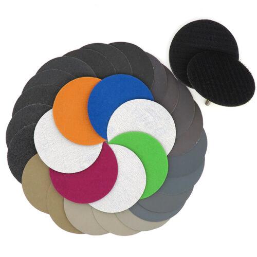 Wet and Dry Sanding Discs 50 75 100mm Hook and Loop Sandpaper Pads 60-10000 Grit