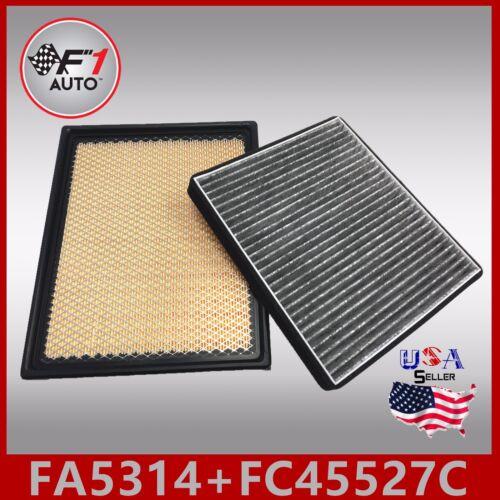 FA5314 FC45527C CARBON PREMIUM ENGINE /& CABIN AIR FILTER for 2003-04 GMC YUKON
