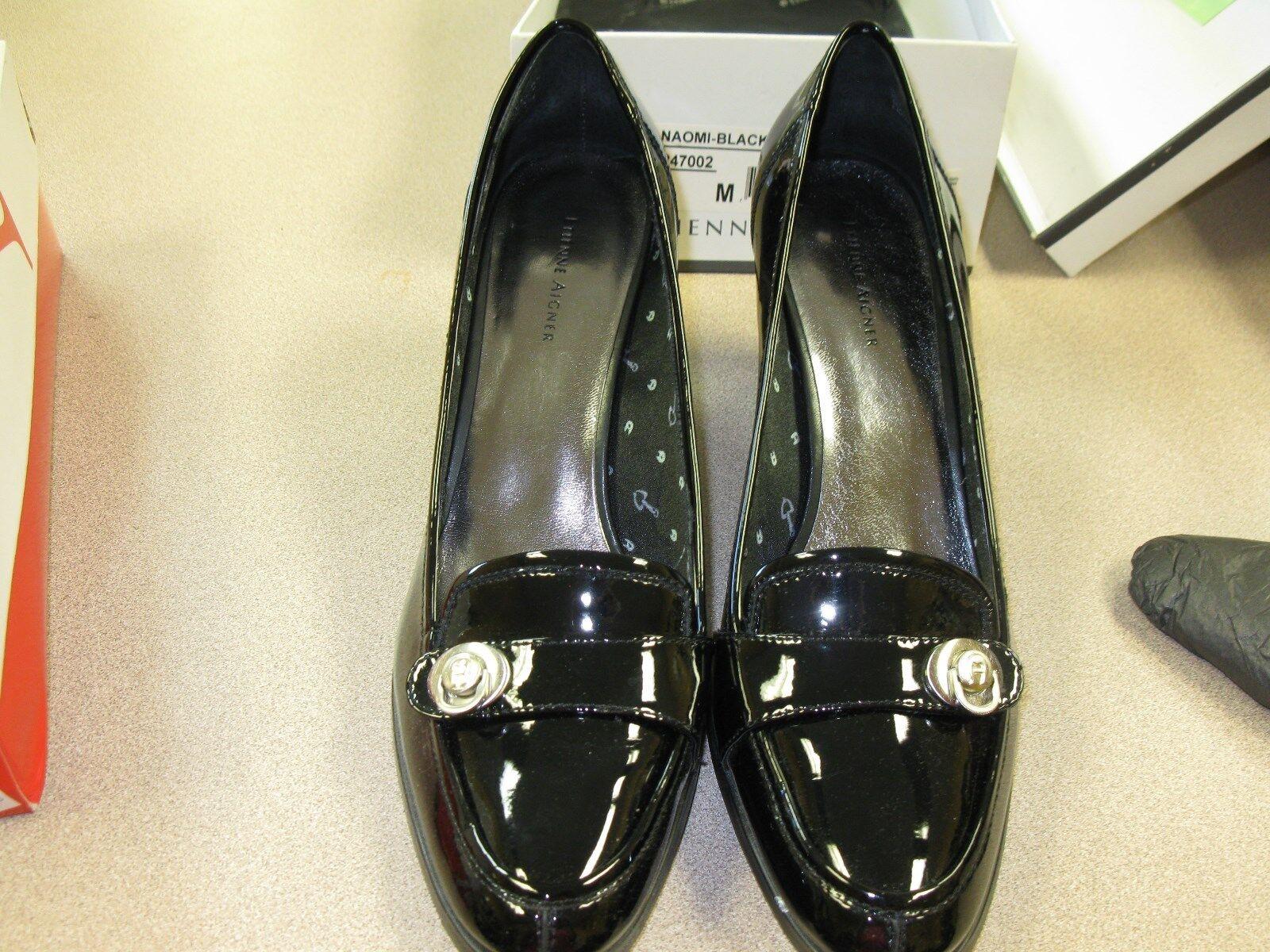ETIENNE AIGNER  donna Heel Pumps Classics scarpe 10 nero