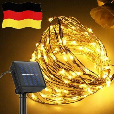 Nett 200 Led Lichterkette Solar Kupferdraht Lichterkette Außenbeleuchtung Weihnachten Halten Sie Die Ganze Zeit Fit
