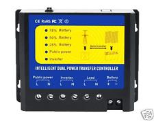Dual Solar Power Transfer Controller  For 24V Solar Power System 220-240V