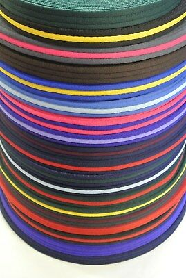 20mm Polyester Air Webbing 21 Various Colours Leads Straps x2 x5 x10 x25 Metres