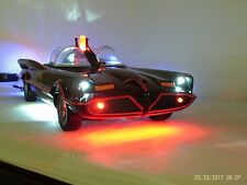 CUSTOM JULY 4TH 1966 BATMOBILE ELECTRIC-SOUNDS-LED WORKING LIGHTS 18 INCHES VID