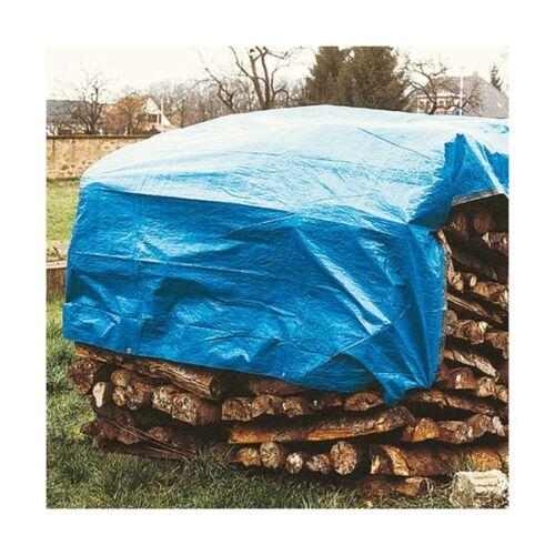 Lot de 4 baches de protection 2 x 8 m 80 grs//m² pour le bois de chauffage
