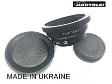 New Hartblei Pentacon Six 6 P6 Kiev 60 88CM Lens to Nikon F Camera Adapter Ring