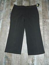 NWT I.N. Studio Brown Dress Pant Size 20W, 63% Polyester 33% Rayon 4% Spandex