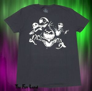 New The Nightmare Before Christmas Skellington Sqaud Mens ...