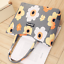 Ladies  Beach Shoulder Bag Summer Holiday Canvas Straw Tote Shopping Handbag