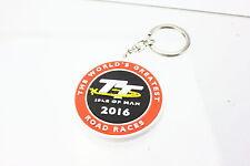 TT Isle of Man 2016 Schlüsselanhänger Tourist Trophy Gummi ORIGINAL Roadrace