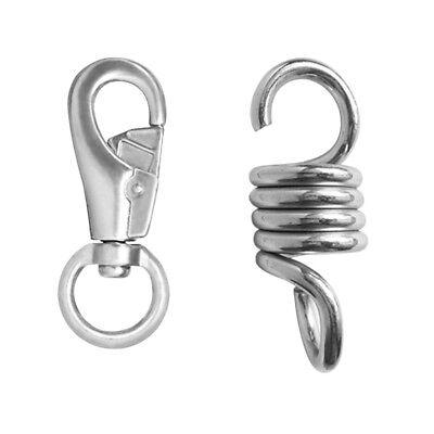 Spring Hanging Kit Suspension Hooks Hanger Swivel Hook For Hammock Chair Hammocks Home Garden