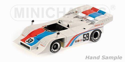 Porsche 917 10 Brumos Porsche Porsche Porsche CanAm Challenge Cup mid Ohio 1973 1 18 Minichamps 6c0a73