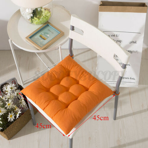 Chair Seat Cotton Cushion Square Soft Thick Pad Padded Home Office Decor 17x17/'/'