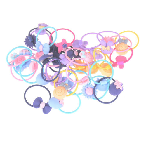 20pcs Mixed Baby Hair Ropes Girls Hair Accessories Children Elastic Hair Ban rs