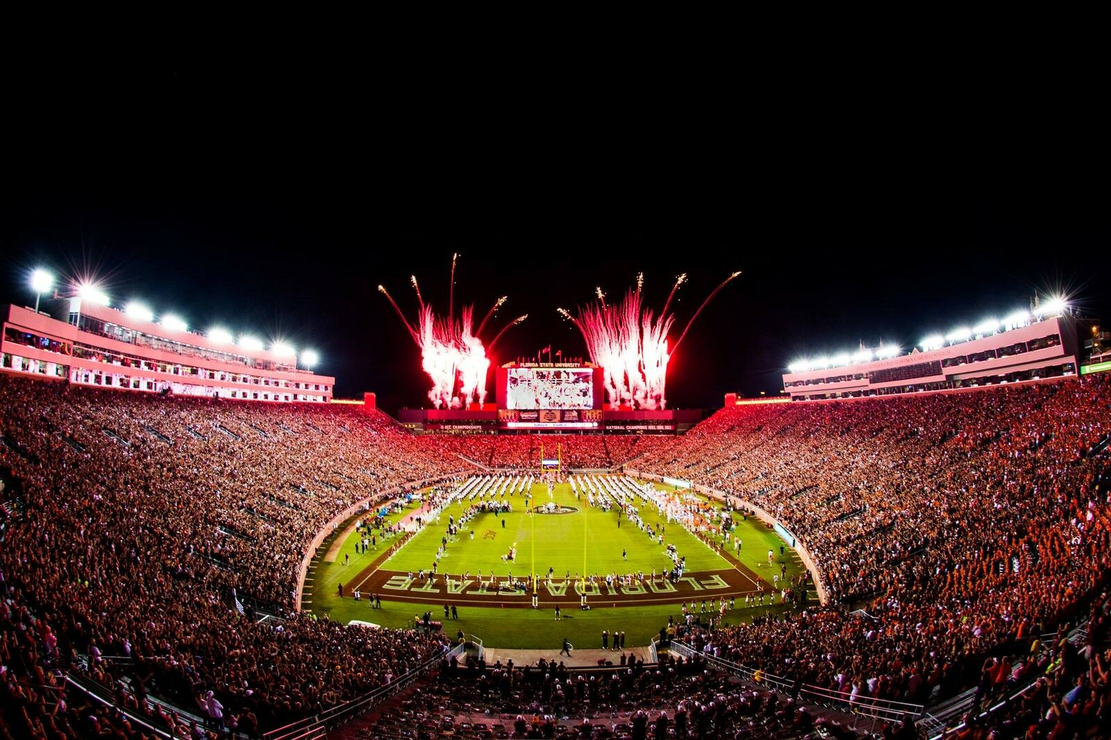 Virginia Tech Hokies at Florida State Seminoles Football