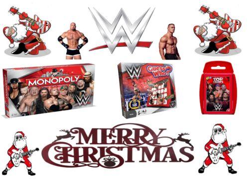 WWE Cadeau-MONOPOLE//GUESS WHO//Top emporte sur 2018//2019 cadeau de Noël