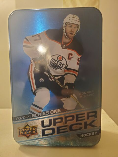 🚨 EMPTY TIN ONLY 🚨 2020-21 Upper Deck S1 NHL Hockey Collector's Connor McDavid