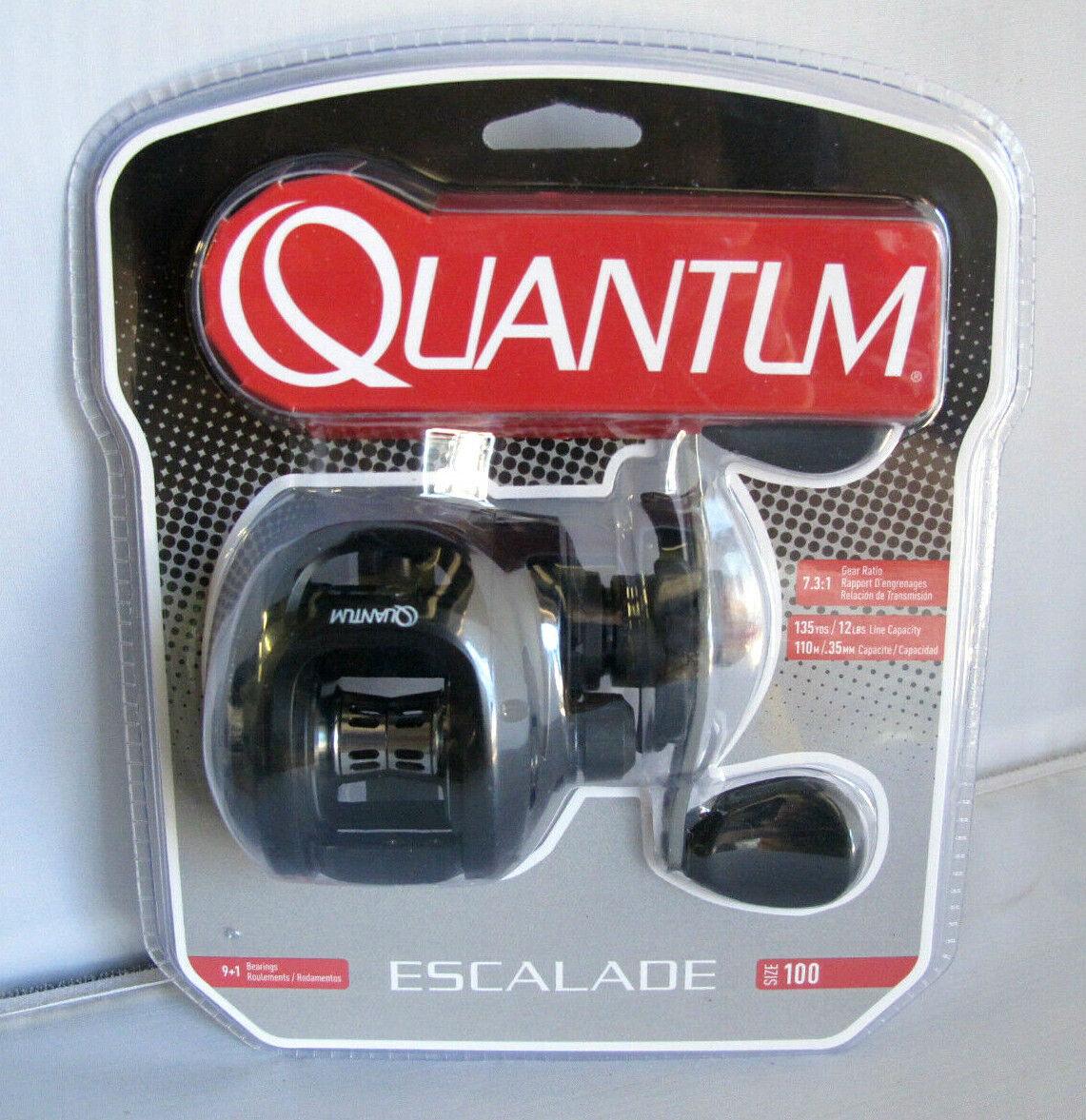 Quantum  ESC100HE Escalade diestros Baitcasting Reel  ofrecemos varias marcas famosas
