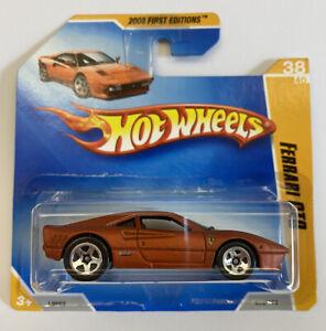 2008-Hotwheels-Ferrari-288-Gto-corto-tarjeta-SC-muy-Rara-Mint-mioc
