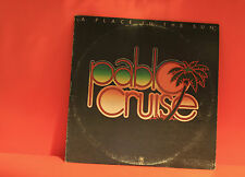 PABLO CRUISE - A PLACE IN THE SUN - A&M 1977 - WITH LINER - LP VINYL RECORD -S