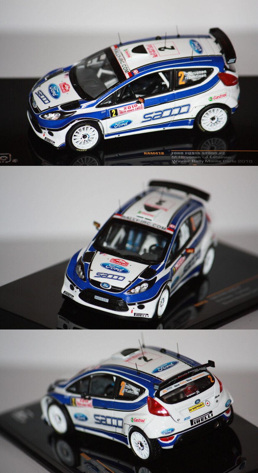Ixo Ford Fiesta S2000 Monte Carlo 2010 M. Hirvonen 1 43 RAM 418