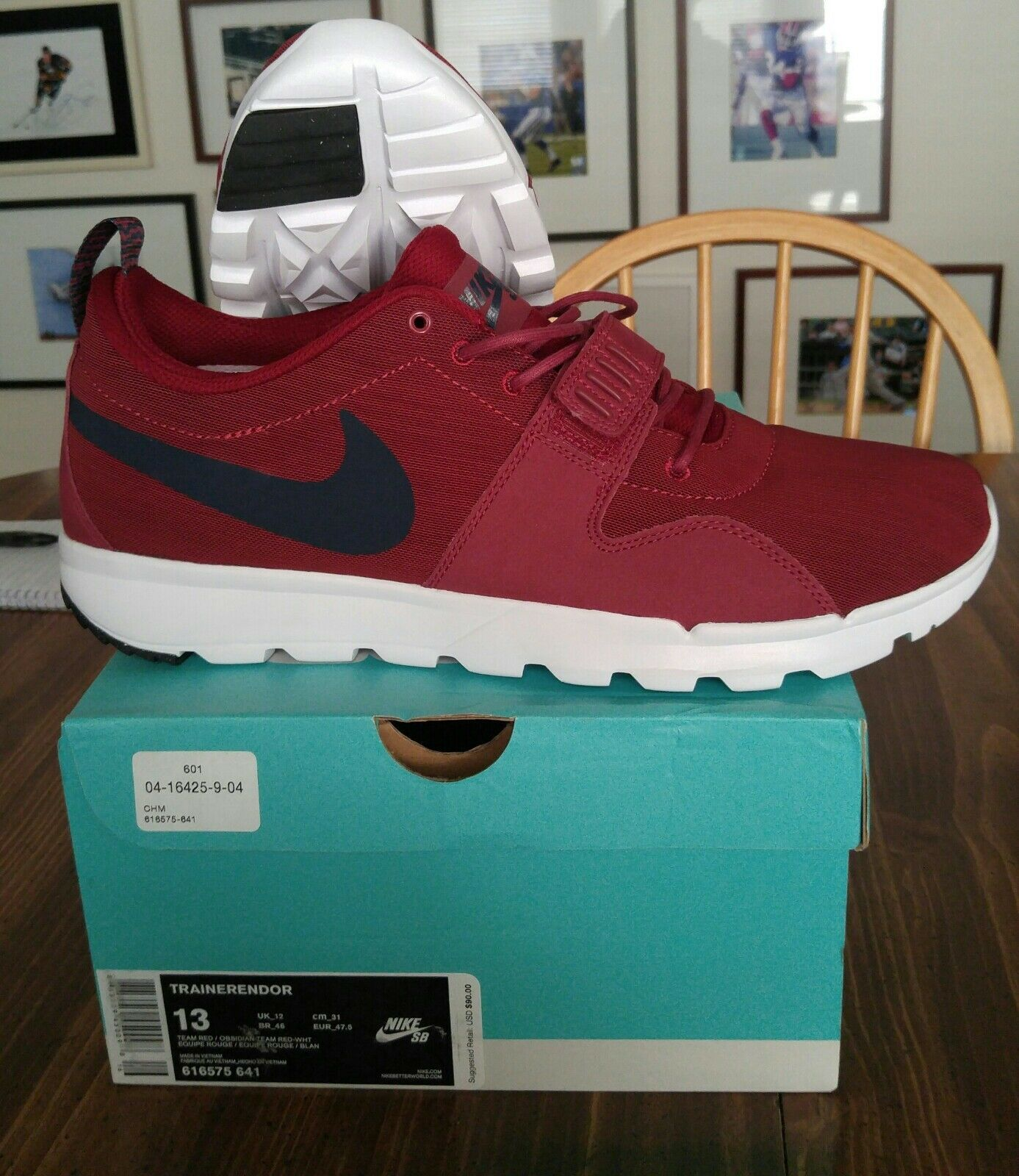 Nike Men's Trainerendor SB 616575641 Size 13 Brand New