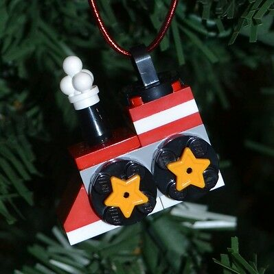 New Genuine LEGO Christmas Ornament Snowman with instructions